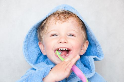 Child brushing teeth | peaediatric dentistry bondi junction